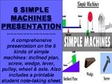 6 Simple Machines Presentation