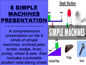 6 Simple Machines Powerpoint
