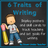 6 Six Traits of Writing VOICES Bulletin Board headers and