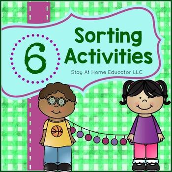 6 Sorting Activities for Preschoolers