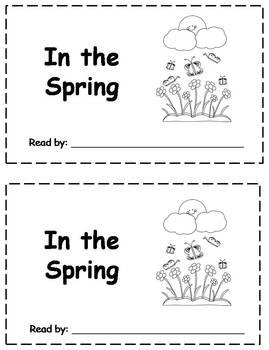 6 Spring Emergent Readers
