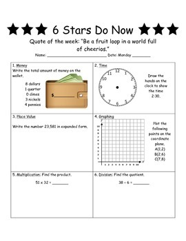 6 Stars Do Now Edition 2