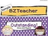 6-Step Behavior Clip Chart for Primary Teachers FREEBIE