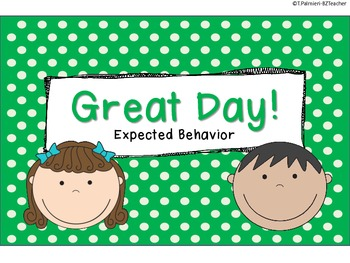 6-Step Behavior Clip Chart for Primary Teachers FREEBIE