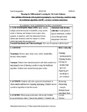 6 Step Lesson Plan - Decimal Addition - Math 5.NBT.7