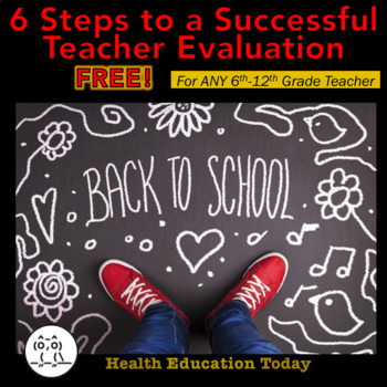 Getting Evaluated? No Worries!: 6 Steps to Acing Your Teacher Evaluation - FREE!
