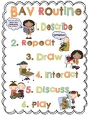 6 Steps to Building Academic Vocabulary Poster