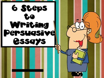 6 Steps to Persuasive Writing PowerPoint w/ Video Clips