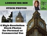 6 Bundle Stock Photos of London's Big Ben