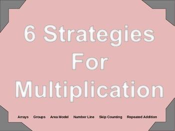 6 Strategies For Multiplication