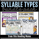 6 Syllable Types Bundle Pack