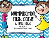 6 Times Table Task Cards