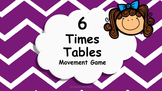Multiplication 6 Times Tables Game / Brain Break