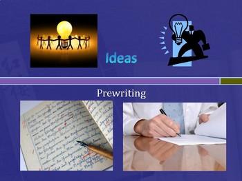 6 Traits: Ideas 1 (prewriting)