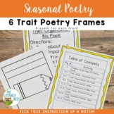 6 Traits Poetry Frame Printables
