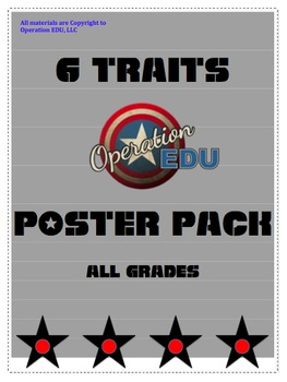6 Traits Poster Pack