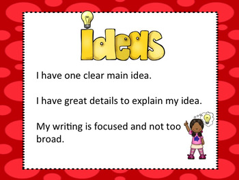 6 Traits Posters for Primary Grades