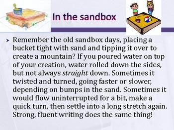 6 Traits: Sentence Fluency 1