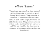 6 Traits Tree