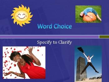 6 Traits: Word Choice 2