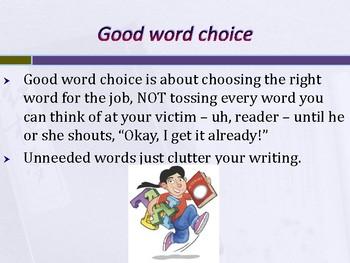 6 Traits: Word Choice 3