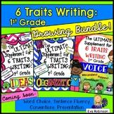 6 Traits Writing: 1st Grade-Growing Bundle