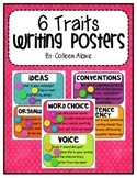 6 Traits of Writing Posters (Color Splash)