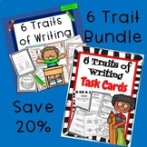 6 Traits of Writing Bundle Mini Lessons and Task Cards