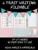 6-Traits of Writing Foldable