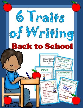 6 Traits of Writing Back to School