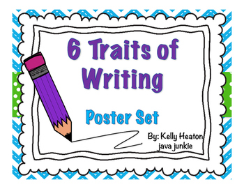 6 Traits of Writing POSTER SET **FREE**