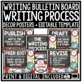 Writing Process Posters - Arms and Cups - Writing Process