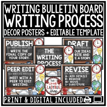 Six Traits of Writing Posters & 6 Traits of Writing