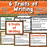 6 Traits of Writing Posters  APT-001