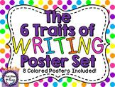 6 Traits of Writing Posters (Polka Dots)
