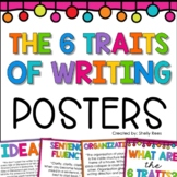 6 Traits of Writing Posters - Quotes for Each Trait