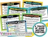 6 Traits of Writing Printable Posters