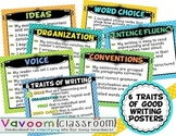6 Traits of Writing Printable Posters