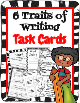 6 Traits of Writing Task Cards