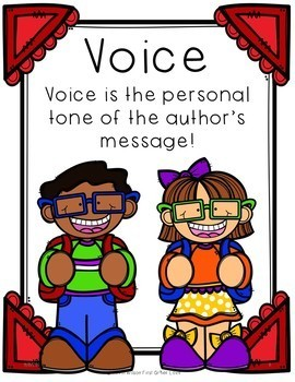 Writing With VOICE First Grade