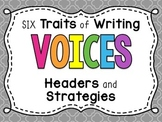 6 Traits of Writing VOICES Bulletin Board