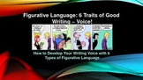 Common Core Figurative Language (6 Types) with Collaborative Synthesis!