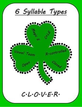 6 Syllable Types: CLOVER