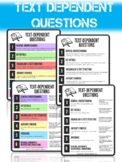 6 Types of Text Dependent Questions