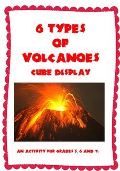 Volcanoes Construction Cube