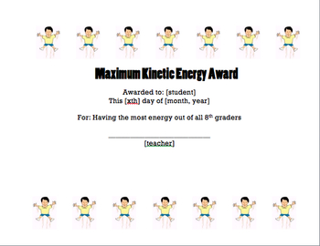 6 Unique Science Awards for Middle School/High School