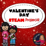 6 Valentines STEAM STEM activities LOW PREP