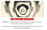 6 WORD MEMOIR LESSON