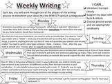 6 Week Opinion Writing