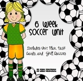 6 Week Soccer Unit {Intermediate}